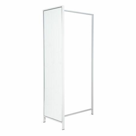 Frame DV89 garderoberek Van Esch wit - spiegel