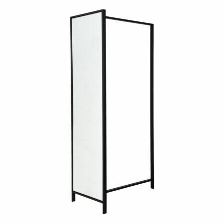 Frame DV89 garderoberek Van Esch zwart - spiegel