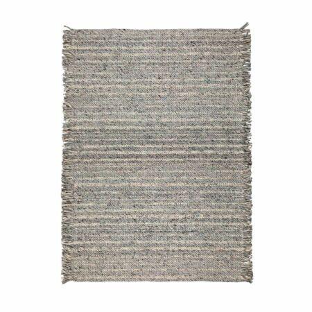 Frills vloerkleed Zuiver 170x240cm grijs - blauw