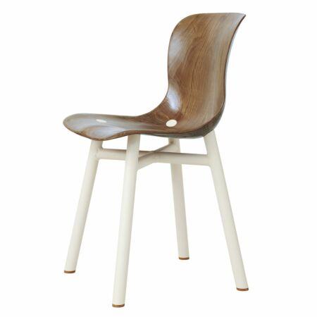 Wendela stoel Functionals lichte zitting - wit