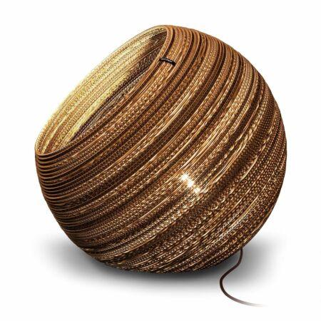 Globe vloerlamp Think Paper Ø64 inclusief dimmer