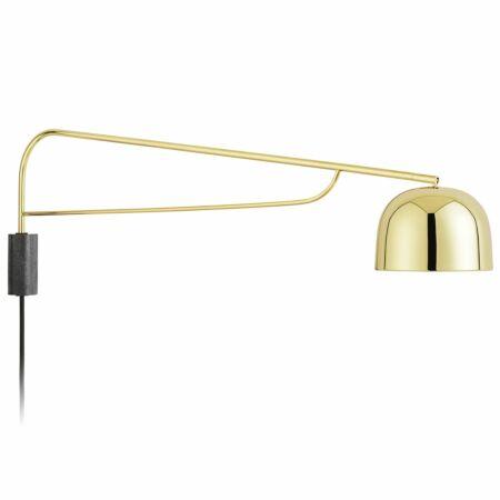 Grant wandlamp Normann Copenhagen 111cm messing