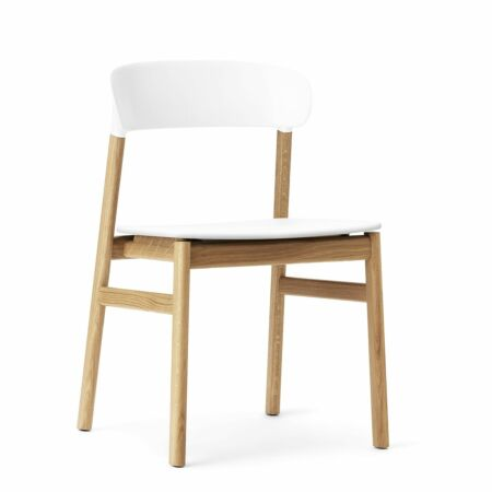 Herit eetkamerstoel Normann Copenhagen naturel - wit