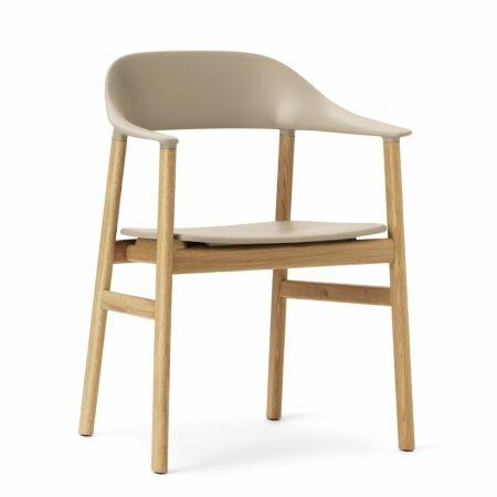 Herit Armchair stoel Normann Copenhagen naturel - zand