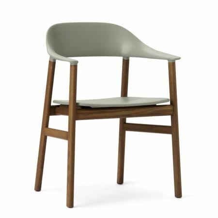 Herit Armchair stoel Normann Copenhagen gerookt - groen