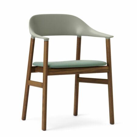 Herit Armchair stoel Normann Copenhagen gerookt - stof groen