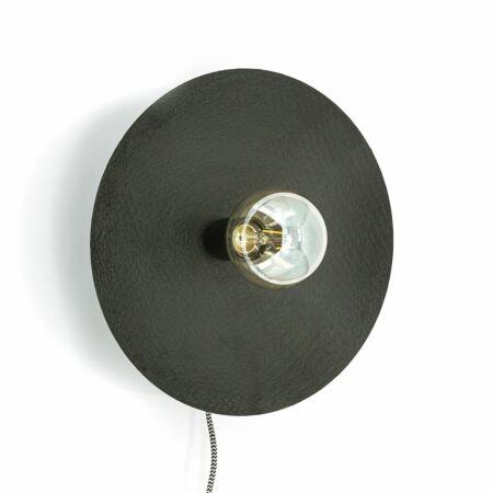 Horus wandlamp By-Boo Ø33 zwart