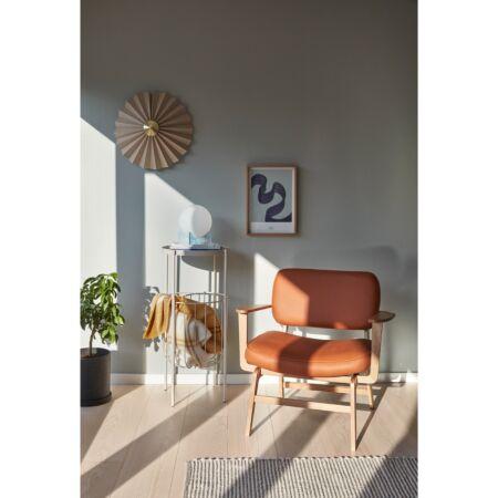 Nicolai fauteuil Hübsch - bruin