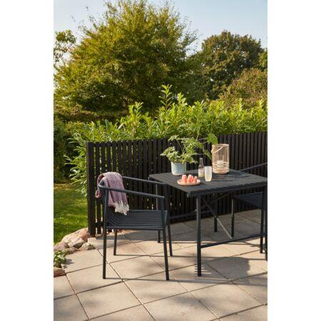 Radiant tuinstoel Hübsch - zwart