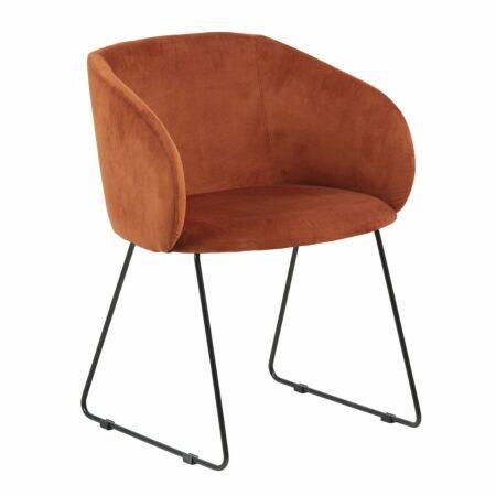 OP = OP - Hven eetkamerstoel Interstil oranje