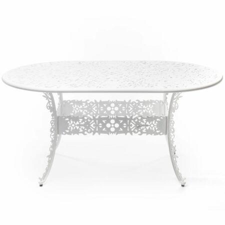 Industry tafel Seletti ovaal wit