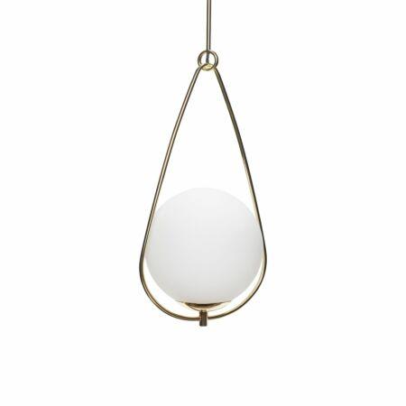 Isotope hanglamp Hübsch opaal