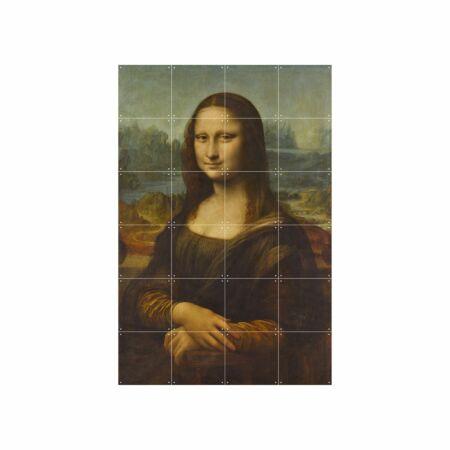 OP = OP - Mona Lisa wanddecoratie Ixxi 120x80cm