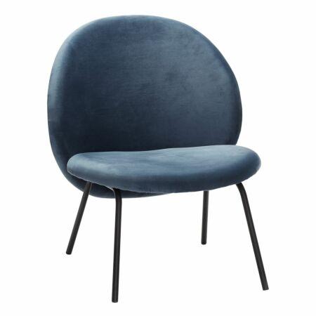 Japan fauteuil Hübsch blauw