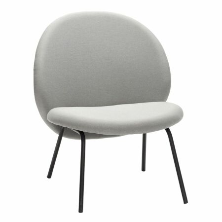 Japan fauteuil Hübsch - grijs
