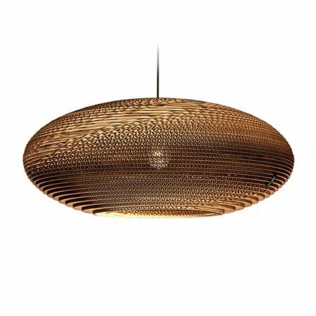 Jazzy hanglamp Think Paper Ø64