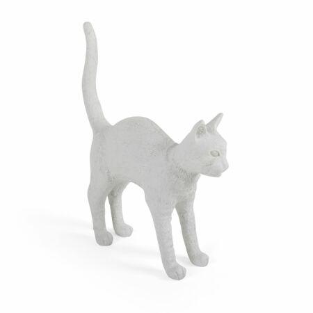 Jobby Cat lamp Seletti wit