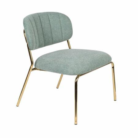 Jolien fauteuil Luzo lichtgroen