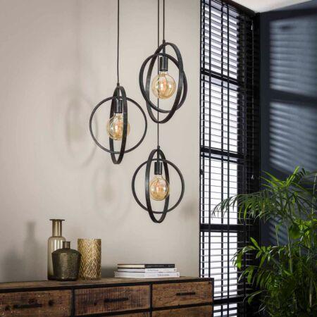 Alix hanglamp Kay - 3L - getrapt