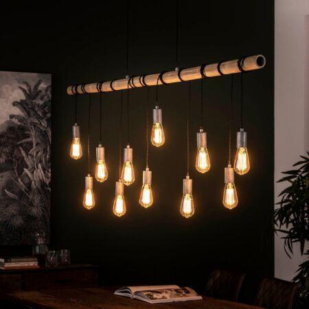 Bamboe hanglamp Kay - 11L