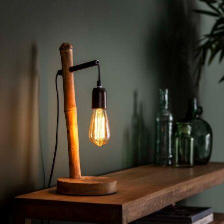 Bamboe tafellamp Kay