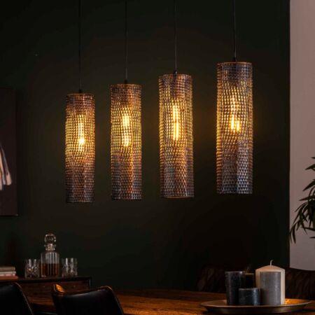 Chaba hanglamp Kay - tube - 4xØ12