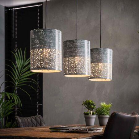 Concrete hanglamp Kay - 3xØ20