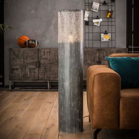 Concrete vloerlamp Kay - H120xØ25