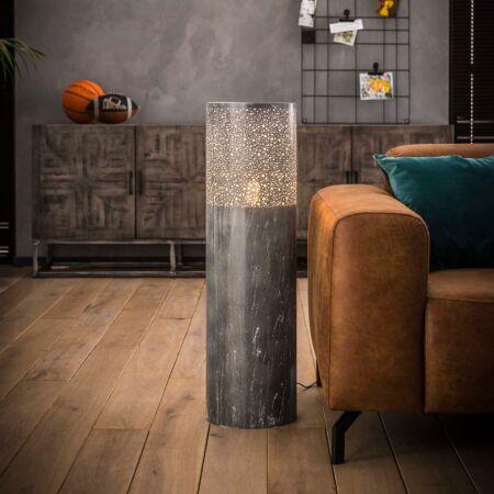 Concrete vloerlamp Kay - H90xØ25