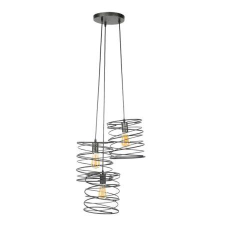 Juna hanglamp Kay - 3xØ25 - getrapt