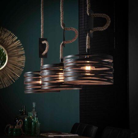 Wikkel hanglamp Kay