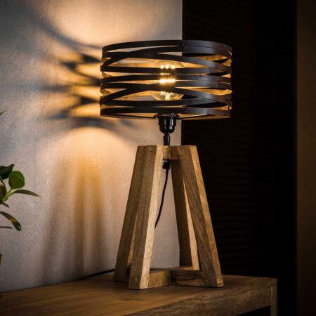Wikkel tafellamp Kay