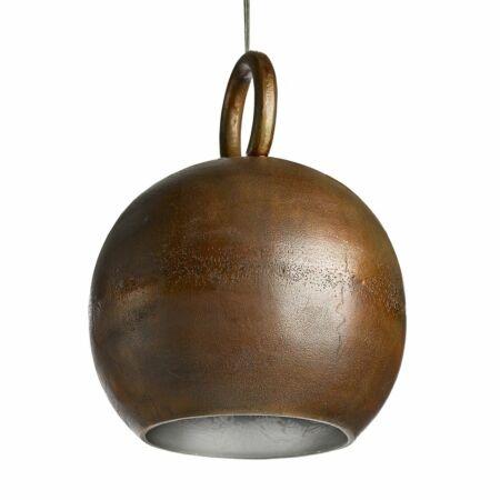 Kettlebell hanglamp Pols Potten koper