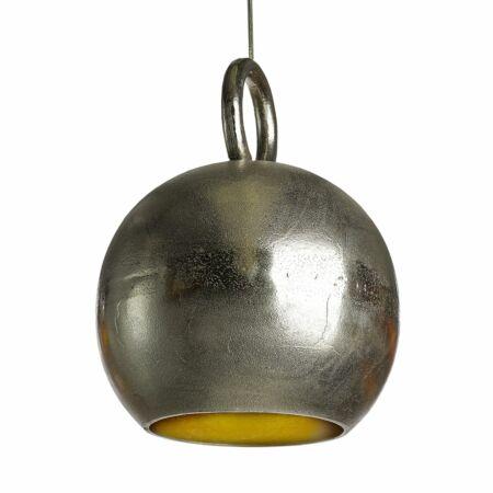 Kettlebell hanglamp Pols Potten nikkel