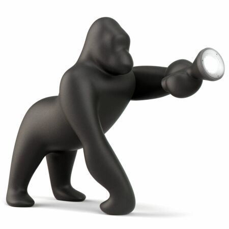 Kong lamp Qeeboo LED outdoor zwart