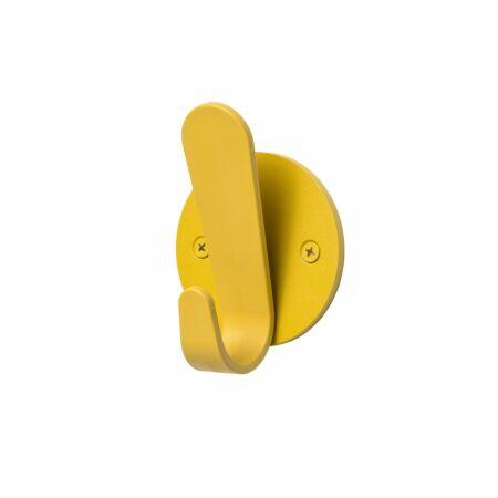 Krok HJH10 wandkapstok Van Esch geel