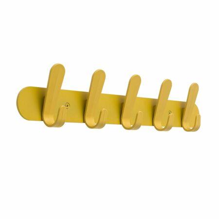 Krok HJH60 wandkapstok Van Esch geel