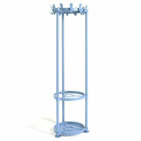 Krok Round staande kapstok Van Esch blauw