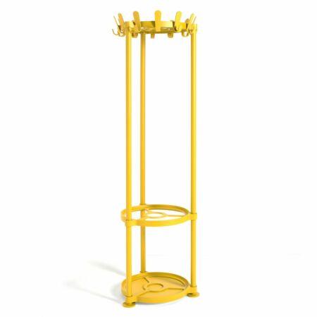 Krok Round staande kapstok Van Esch geel