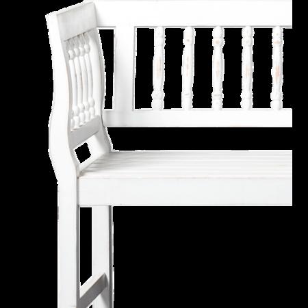 Daan tuinbank Lanterfant - Vintage White