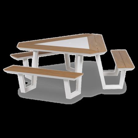 Jip picknickset driehoek Lanterfant - Wit