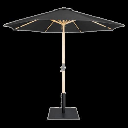 Lucas parasol + Tygo voet Lanterfant - SET - Zwart