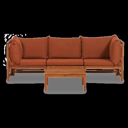 Suus loungeset Lanterfant - Terracotta