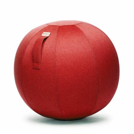 Leiv zitbal Vluv Ø65cm - ruby red