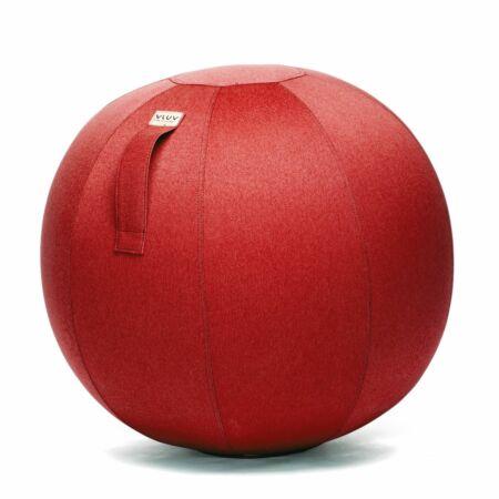 Leiv zitbal Vluv Ø75cm - ruby red