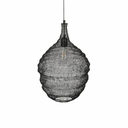 Lena hanglamp Luzo medium zwart