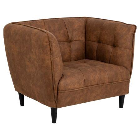 Pernille fauteuil Liv - Camel