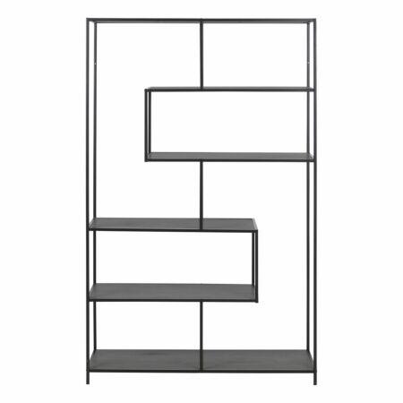 Stonewall 6 XL wandkast Liv asymmetrisch - zwart