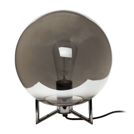 Lucas tafellamp Hübsch grijs - gerookt - VERHUIS SALE