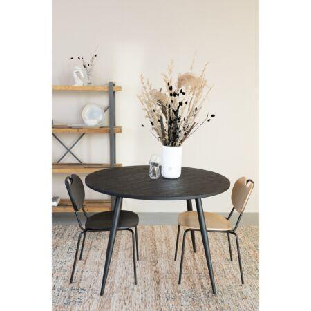 Aspen eetkamerstoel Luzo - hout zwart